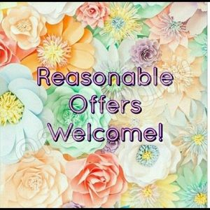 I welcome offers! 🤗